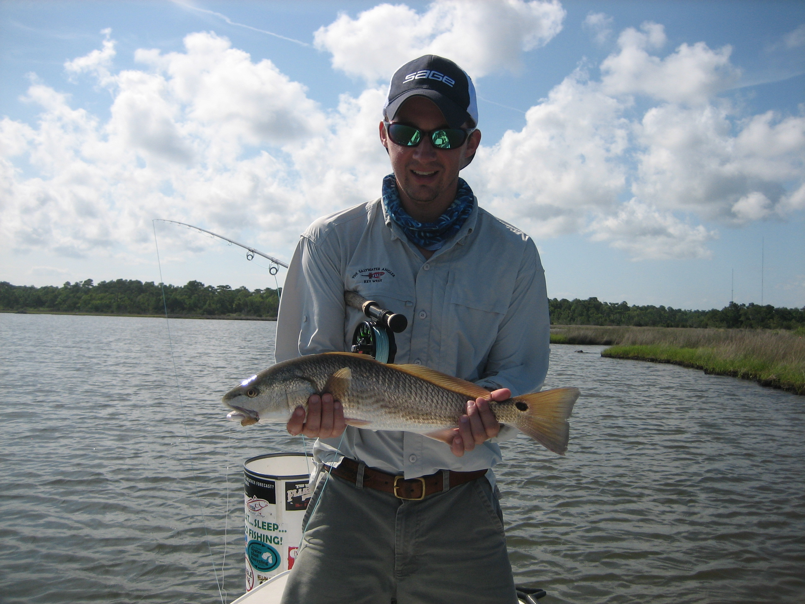 Whit and a Red Drum