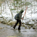 ...hiking in the winter. Photo: Cumberland Trail Conference