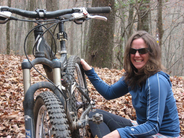 Bettina Freese on the joy of mountain biking in the fall.