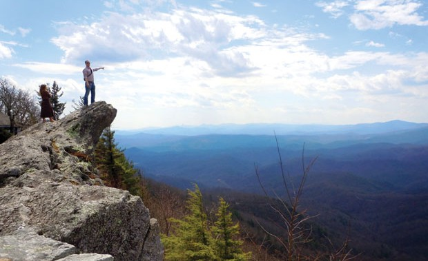 Grandfather Mountain Scenic Area proposal returns.