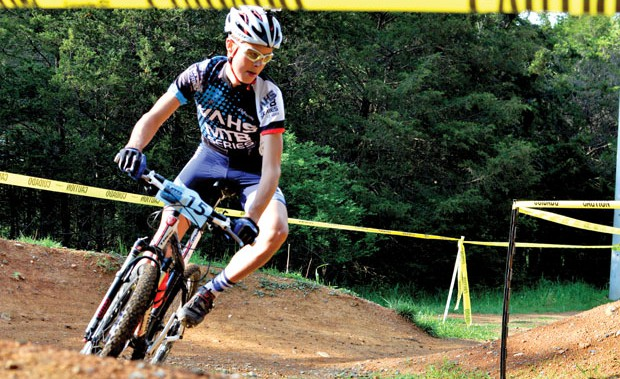 High school mountain bike racing takes off in Virginia.