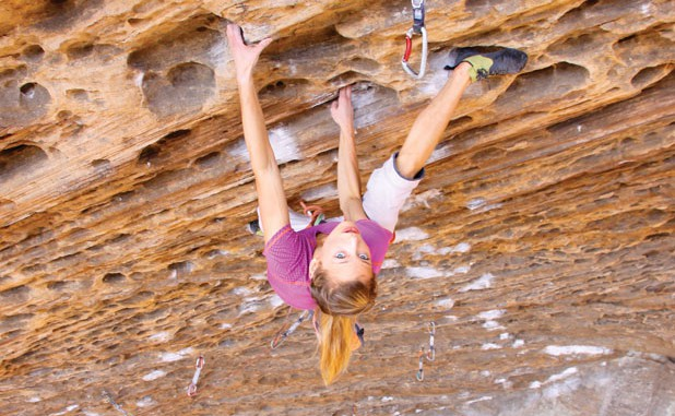 Q&A with Sasha Digiulian, one of the strongest climbers in the country.