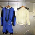 Heated suit prototypes from the Extreme Environments lab at the University of Minnesota.