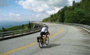 The viaducts of the Blue Ridge Parkway offer amazing scenery.