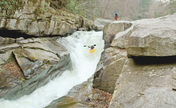 Blue Ridge Outdoors: Green River narrows.