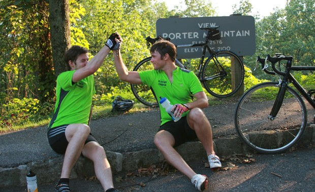 Cycling the Blue Ridge Parkway: Victory