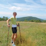 Jennifer Pharr Davis hiked the 2,180-mile Appalachian Trail in 46 days, 11 hours, and 20 minutes.