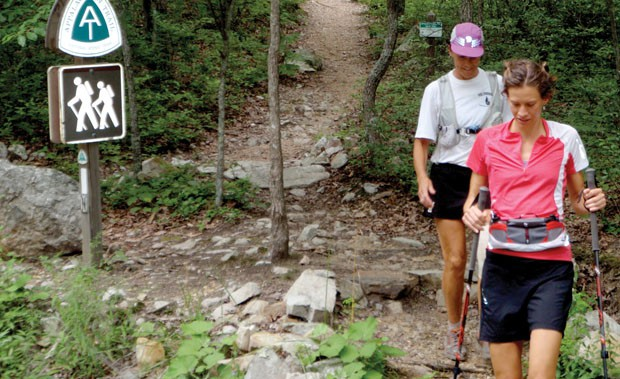 Jennifer Pharr Davis sets the overall Appalachian Trail speed record