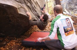 Going Bald: Bouldering in Rumbling Bald
