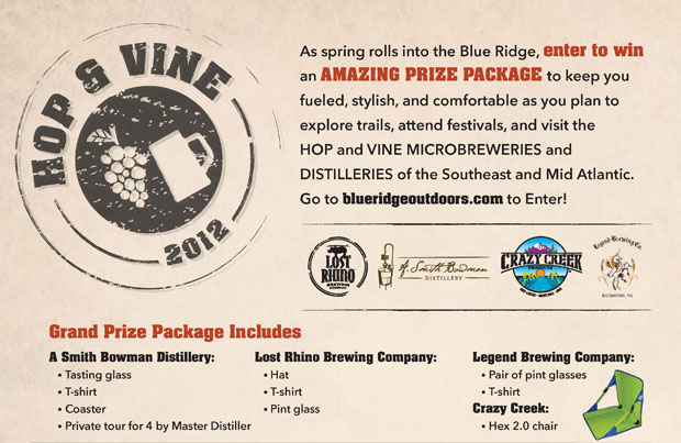 Enter to win a beer prize pack in our Hop and Vine Giveaway Sweepstakes