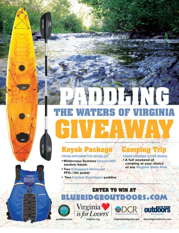 Paddling Giveaway