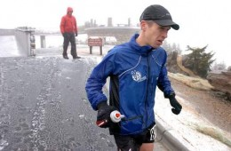 Mt. Mitchell 40 miler in the elements