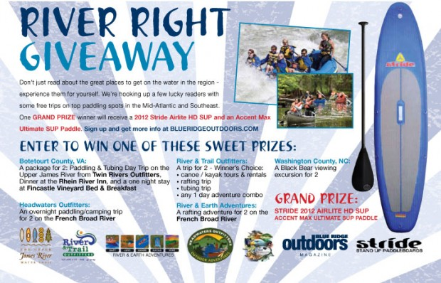 River Right Giveaway