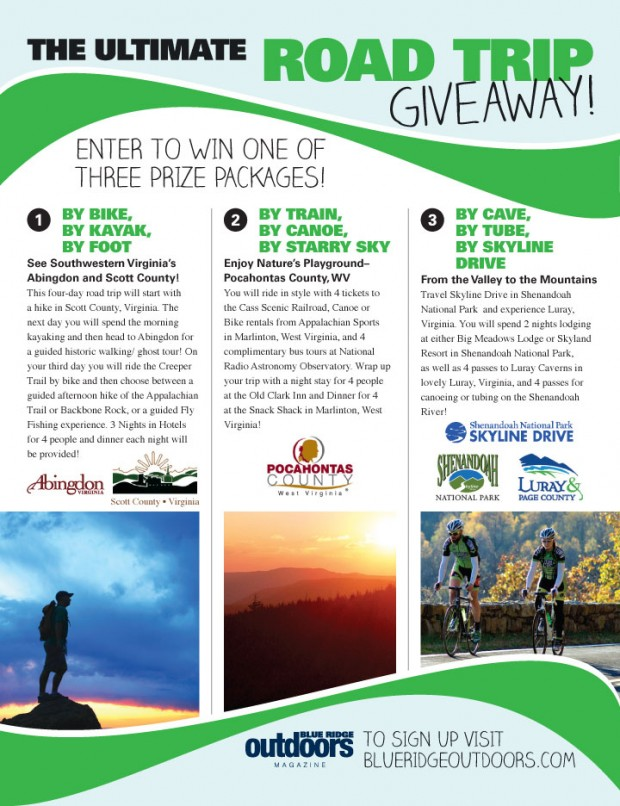 The Ultimate Road Trip Giveaway