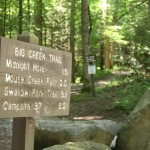 The trail to Midnight Hole