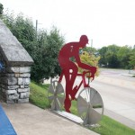 Chattanooga Bike Statue