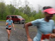 Vanessa in Smoky Mountain Relay