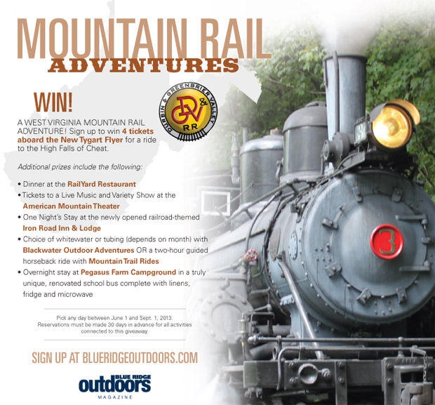 mountain rail giveaway