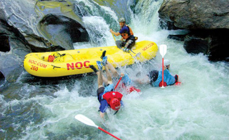 Running the Chattooga is no joke. Just ask these guys.