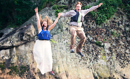 Taking the Leap: The couple that plays together, stays together.