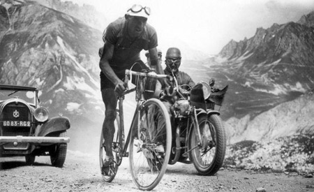 It's like the Tour de France in 1934...only harder.