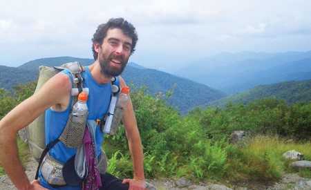 Matt Kirk thru-hiked the Appalachian Trail in 58 days, 9 hours, and 38 minutes.