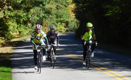 Cycling the entire Blue Ridge Parkway can be a test of physical, and mental, endurance. Photo: Aaron Bible