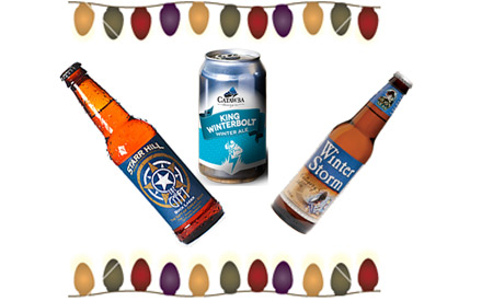 Deck the halls...with these Christmas beers.