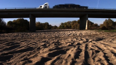 issue - Dry San Joaquin River, CA - credit Christopher Beaver, Tales of the San Joaquin