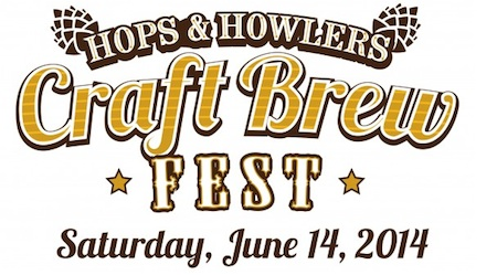 hops and howlers craft beer fest logo