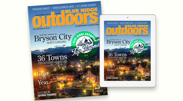 On Stands Now: The November 2014 Issue of Blue Ridge Outdoors