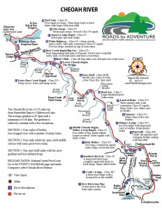 Cheoah River Map