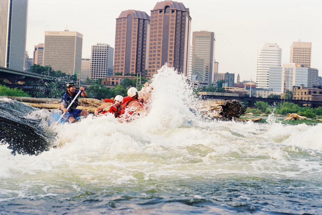 James River Rafting Downtown