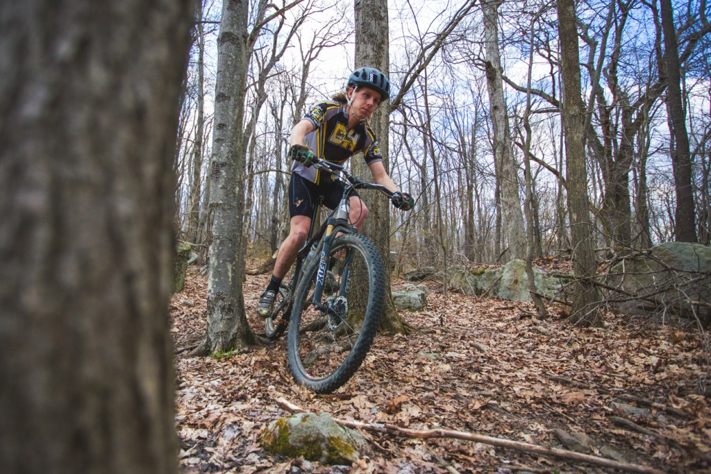 Mike Cordaro is an active Strava user, but says the app doesn't dictate his time in the woods...mostly.