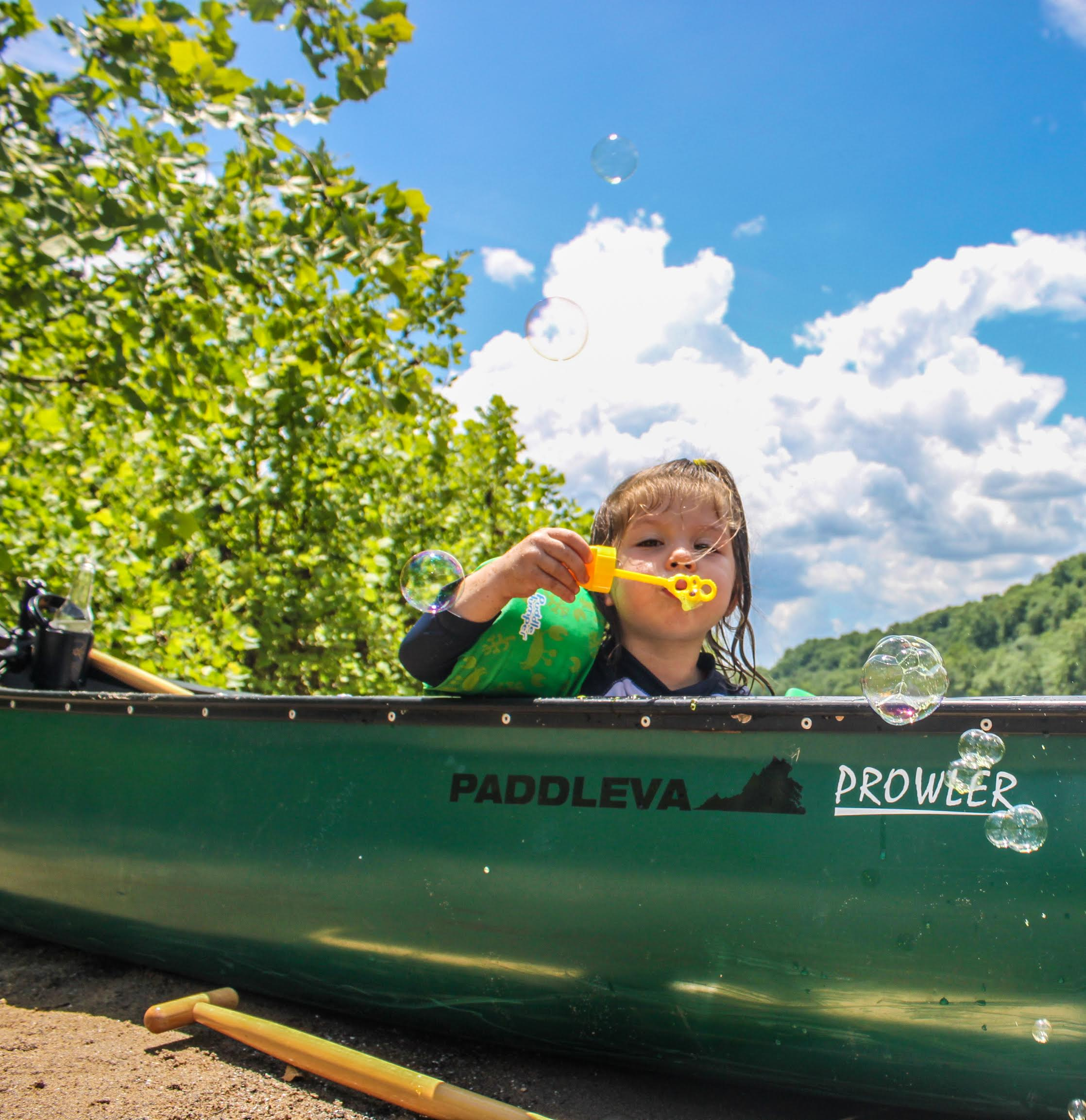 Breaking Up The Paddle And Tiring Kids Out With Some Good Ole Fashioned River Play Is Essential