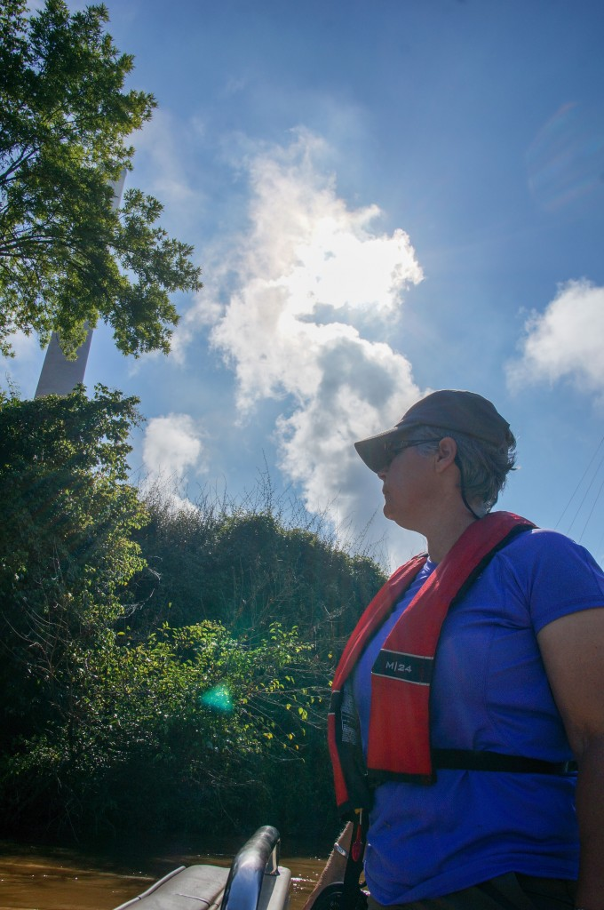 Donna Lisenby investigates a coal power plant in Georgia