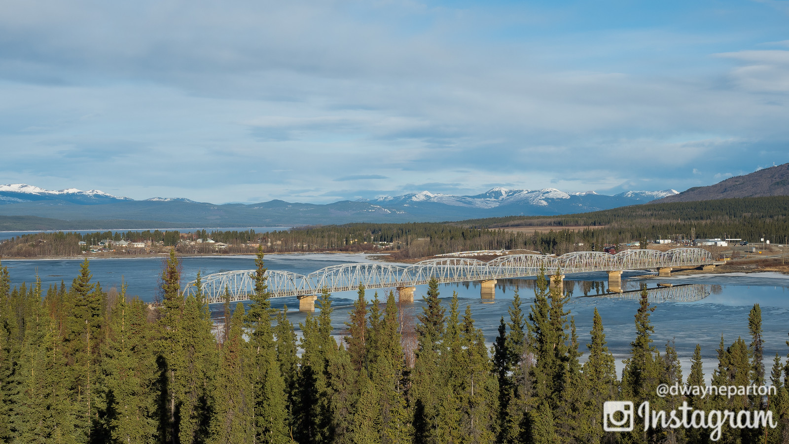 Teslin in the Yukon