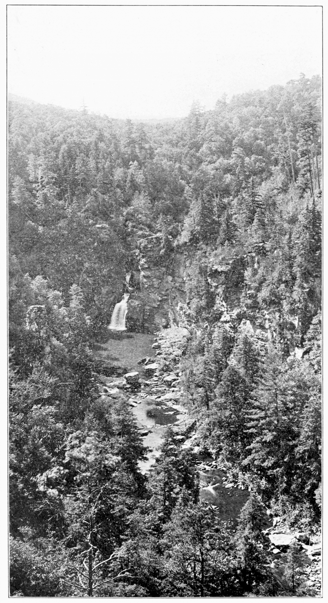 PSM_V73_D190_Linville_river_and_falls_mitchell_county_n_c