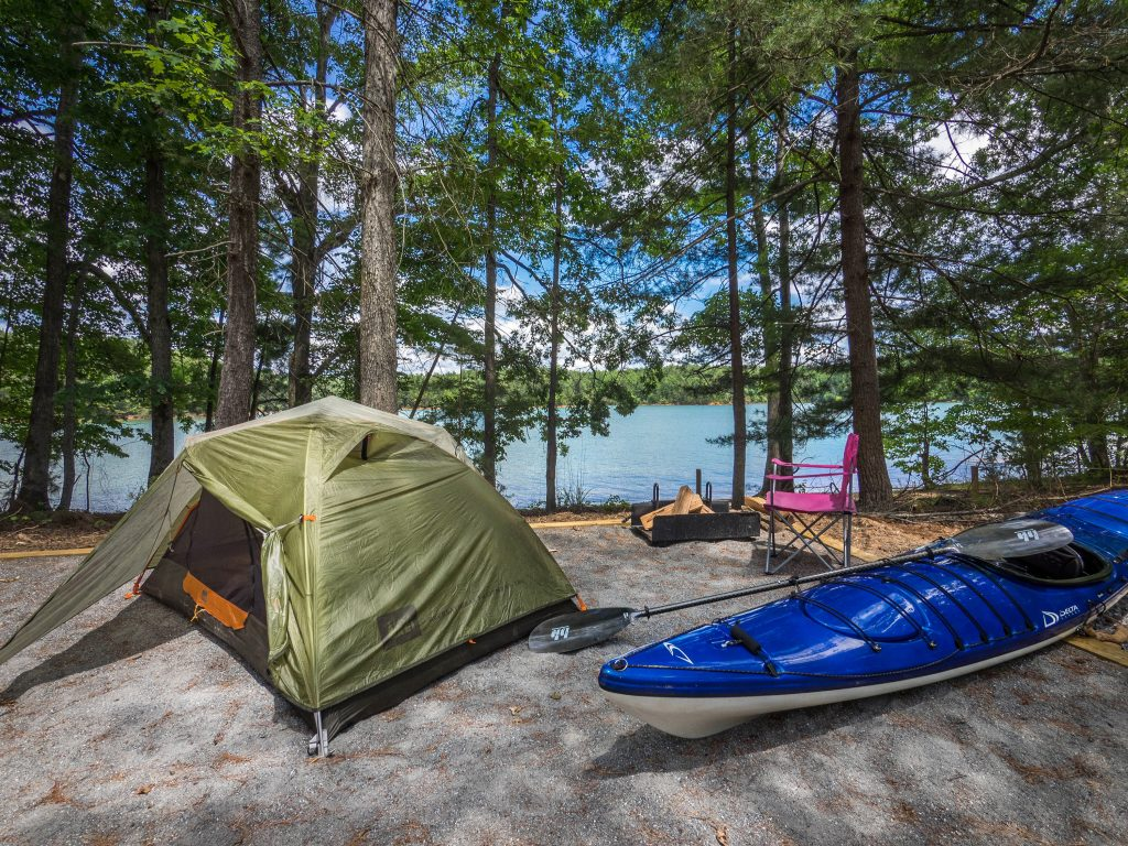 7 Boat-In Campsites to Check Out this Paddling Season