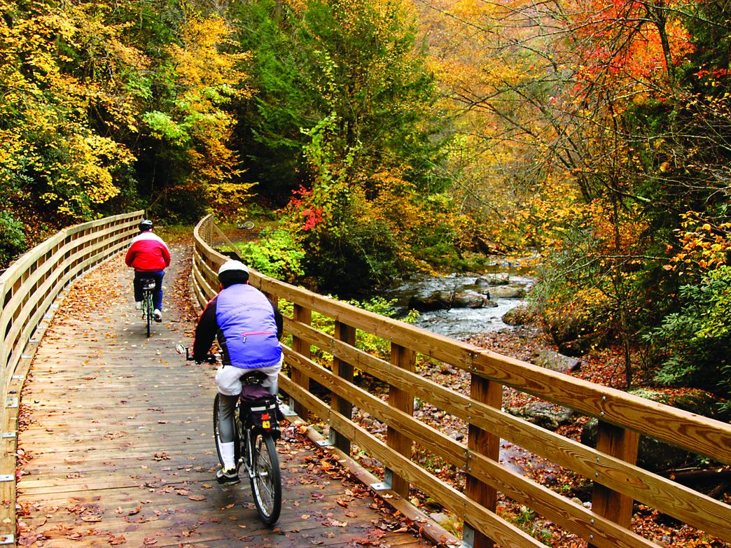 The 6 Best Rail-To-Trail Rides in the Southeast