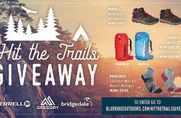 Hit the Trails Gear Giveaway