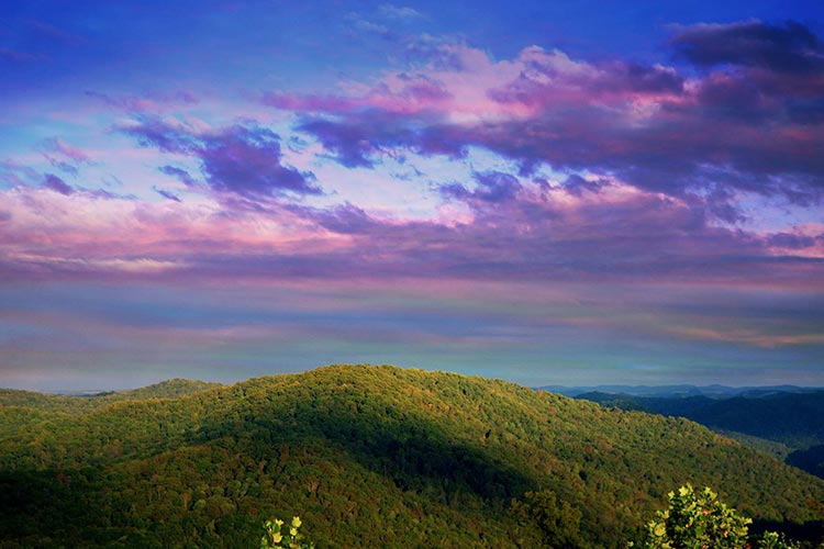 Prestonsburg, KY Mountains
