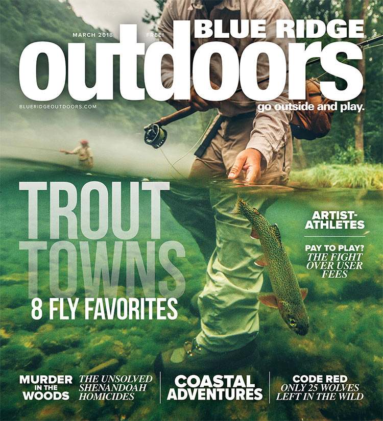 March 2018 Cover Blue Ridge Outdoors