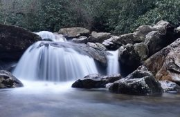 iphone long exposures of waterfalls