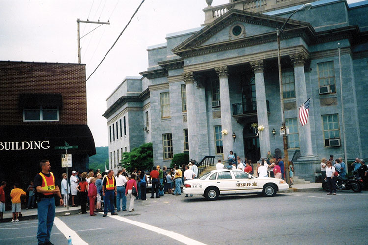 Court House - Murphy, N.C. after the apprehension of Eric Rudolph.