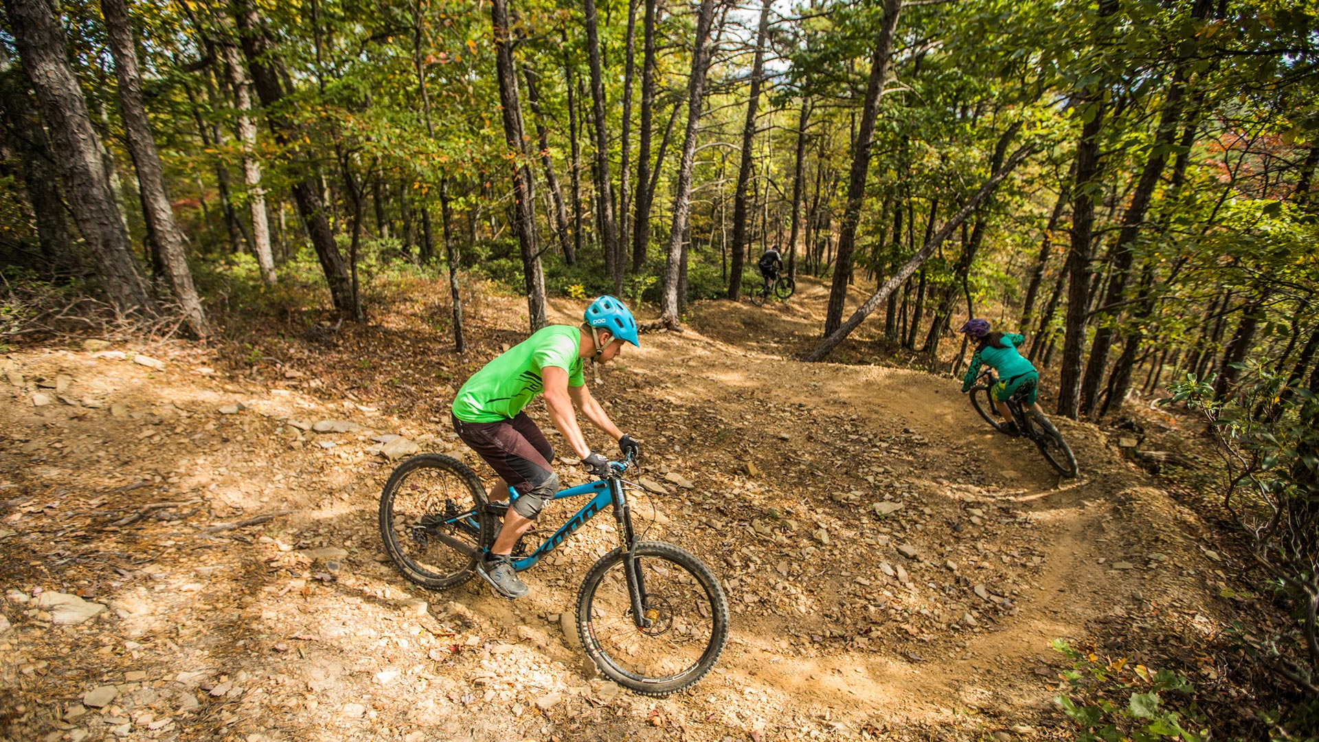 Carvins-Cove-OG-Mountain-Bike-Trail-Downhill-Roanoke-VA