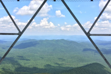 Fryingpan Mountain Lookout Tower