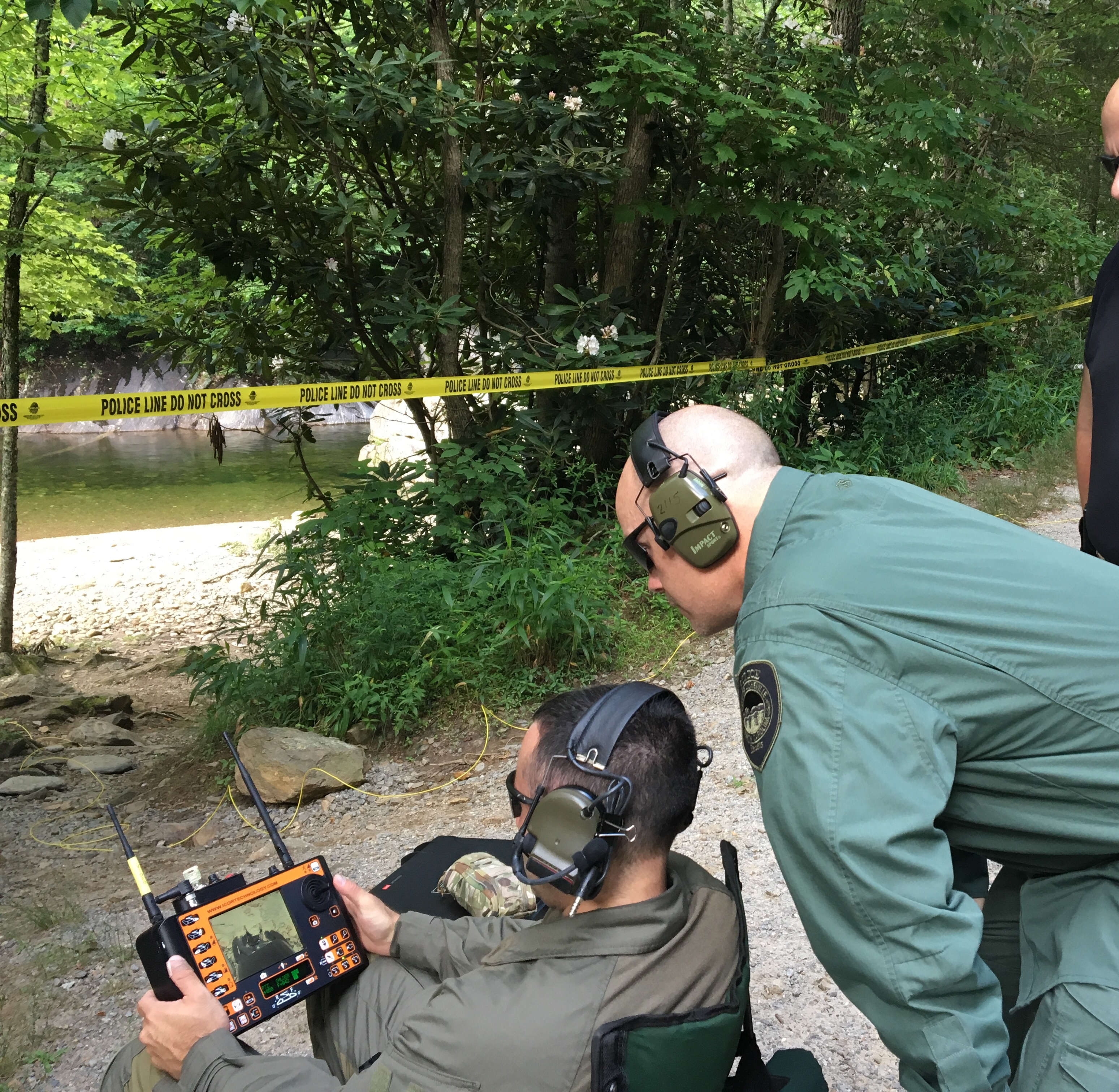Who Placed a Pipe Bomb in a Popular Swimming Hole?