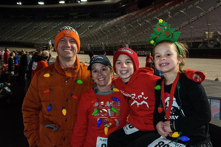 Need for Speed: Chase the Checkered Flag at the Speedway in Lights 5K