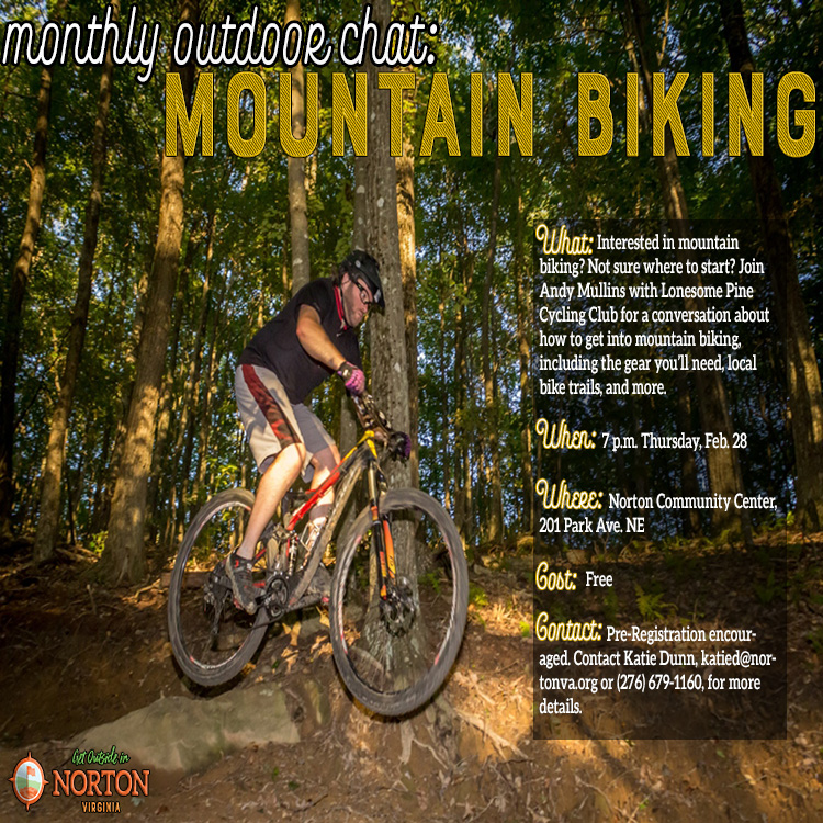 Monthly Outdoor Chat: Mountain Biking